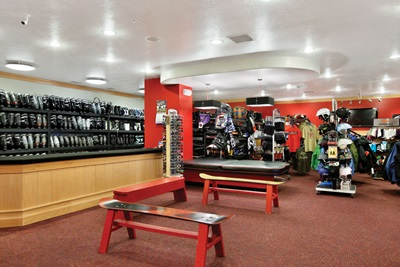 Snowboard Rental Shop Park City