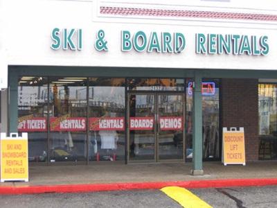 Ski Rental Park City